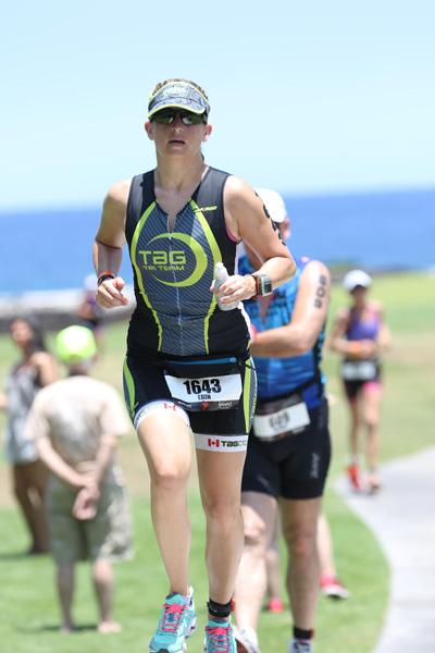 Erin Easingwood running triathlon