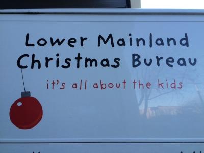 Lower Mainland Christmas Bureau 2015