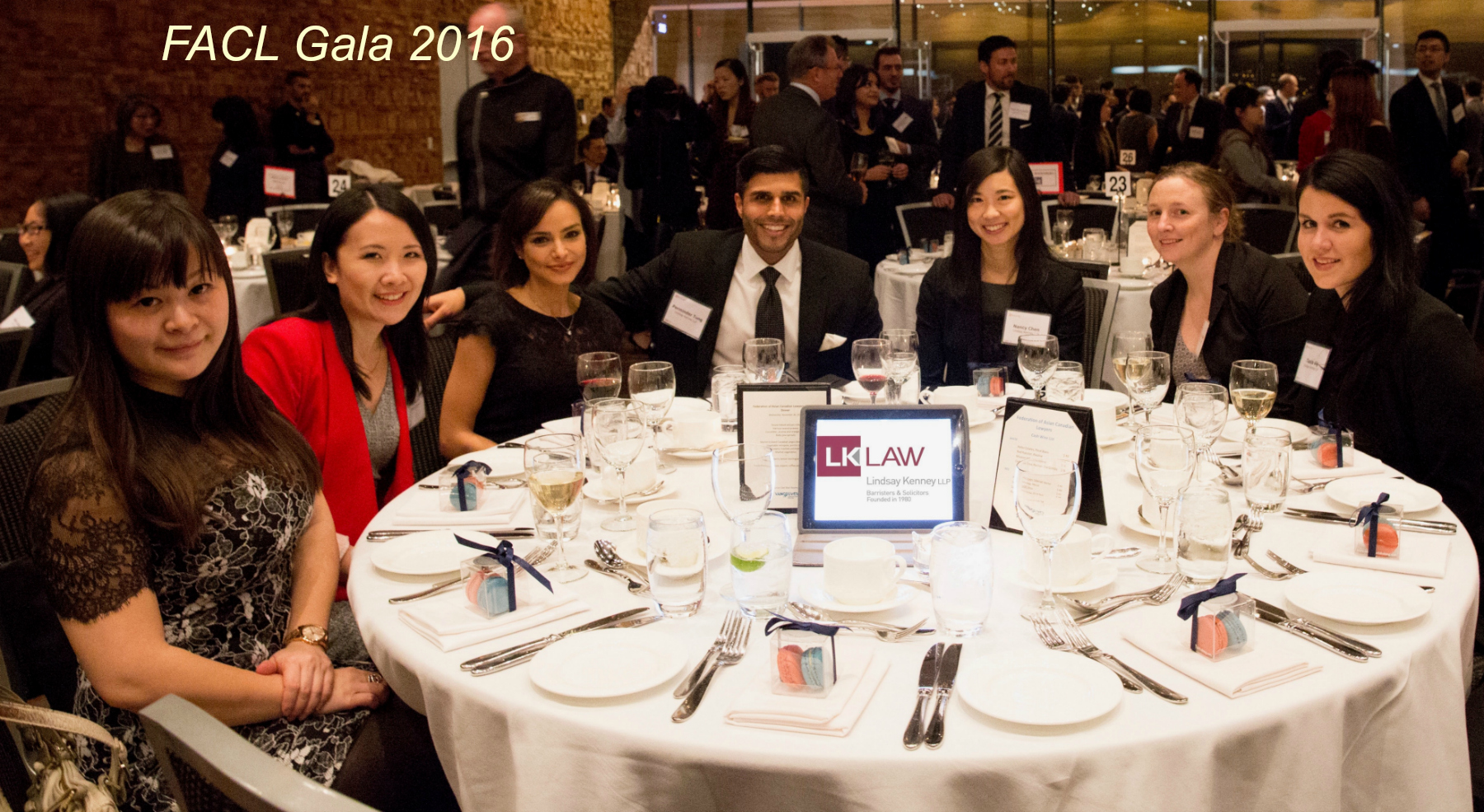 2016 FACL Gala - Lindsay Kenney LLP Table